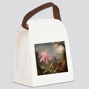Cattleya Orchid And Three Canvas Lunch Bag