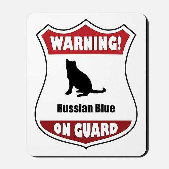 Blue On Guard Mousepad