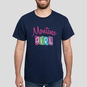 MONTANA GIRL! Dark T-Shirt