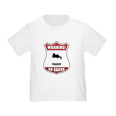 Ragdoll On Guard Toddler T-Shirt