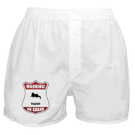 Ragdoll On Guard Boxer Shorts