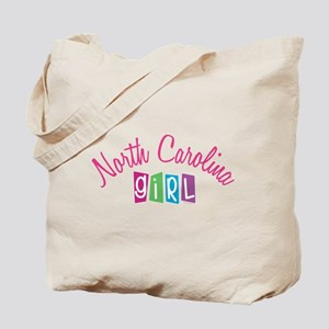 NORTH CAROLINA GIRL! Tote Bag