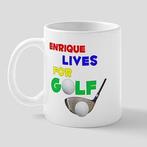 Enrique Lives for Golf - Mug