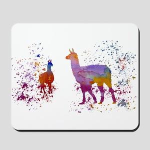 Llamas Mousepad
