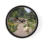Peace Garden Wall Clock