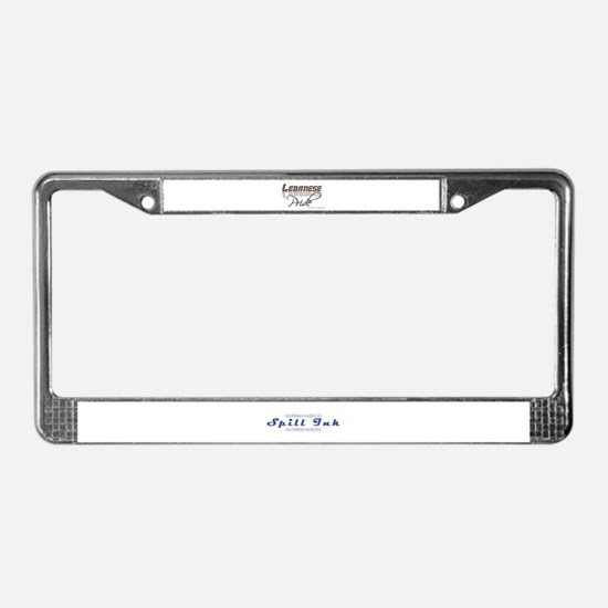 Cute Graphic designer License Plate Frame
