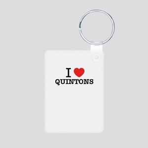 I Love QUINTONS Keychains