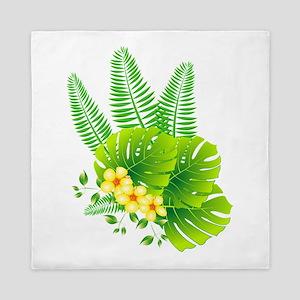 tropical Queen Duvet