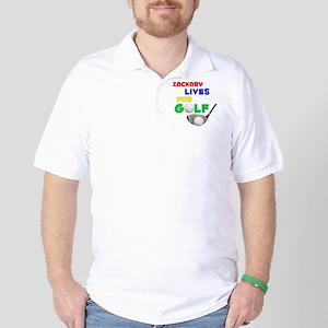 Zackary Lives for Golf - Golf Shirt