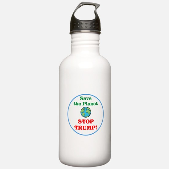 Save the planet...stop Trump Water Bottle