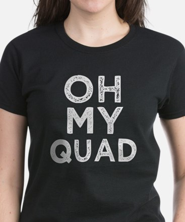 Oh My Quad funny women's fitness tank top T-Shirt