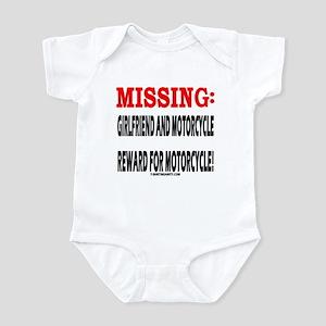 MISSING GIRLFRIEND AND MOTORC Infant Bodysuit