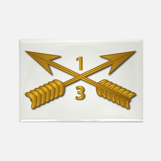 3rd Bn 1st SFG Branch wo Txt Rectangle Magnet
