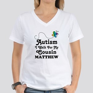 Autism Walk For Cousin Personalized T-Shirt