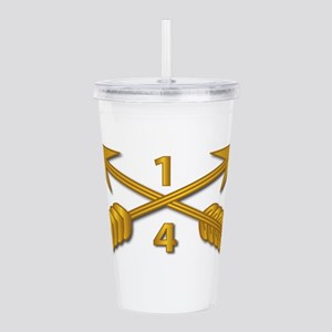 4th Bn 1st SFG Branch Acrylic Double-wall Tumbler