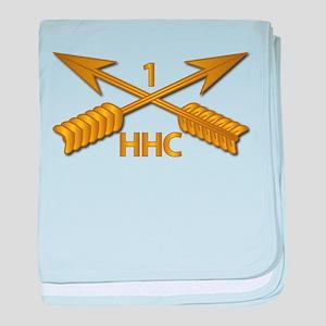 HHC - 1st SFG Branch wo Txt baby blanket
