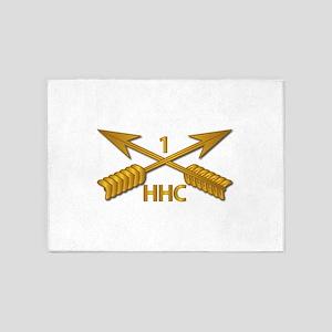 HHC - 1st SFG Branch wo Txt 5'x7'Area Rug