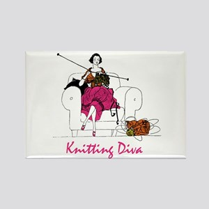 knittingdiva copy Magnets