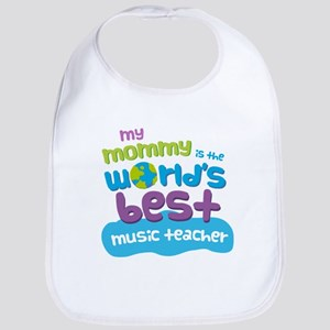 Music Teacher Gift for Kids Baby Bib