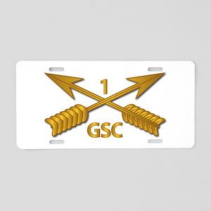 GSC - 1st SFG Branch wo Txt Aluminum License Plate
