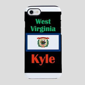 Kyle West Virginia iPhone 8/7 Tough Case