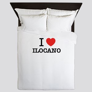 I Love ILOCANO Queen Duvet