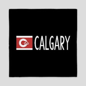 Calgary: Calgarian Flag & Calgary Queen Duvet