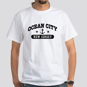 Ocean City NJ White T-Shirt