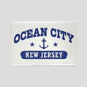 Ocean City NJ Rectangle Magnet