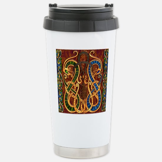 Harvest Moon's Viking Dragons Travel Mug