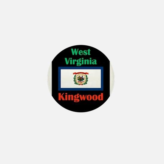 Kingwood West Virginia Mini Button