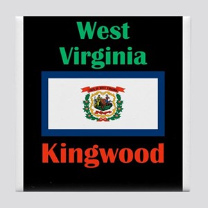 Kingwood West Virginia Tile Coaster