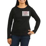E=MC2 Women's Long Sleeve Dark T-Shirt