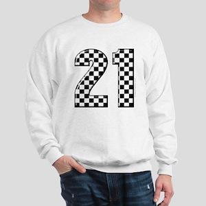 Race Car 21 Sweatshirt