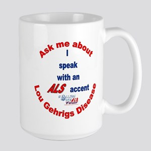ALS Accent Large Mug