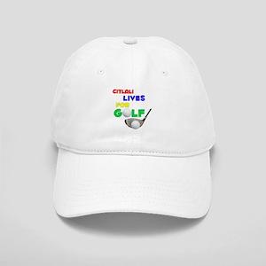 Citlali Lives for Golf - Cap