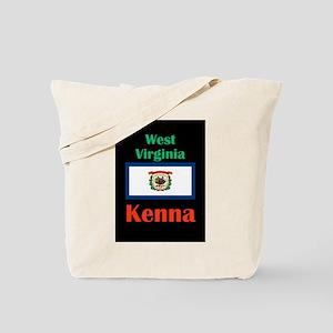 Kenna West Virginia Tote Bag