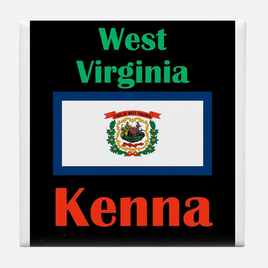 Kenna West Virginia Tile Coaster