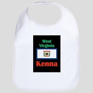 Kenna West Virginia Baby Bib