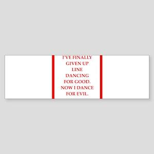 line Bumper Sticker