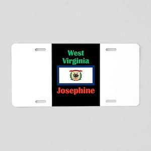 Josephine West Virginia Aluminum License Plate