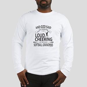 Softball Grandmas Cheering | G Long Sleeve T-Shirt