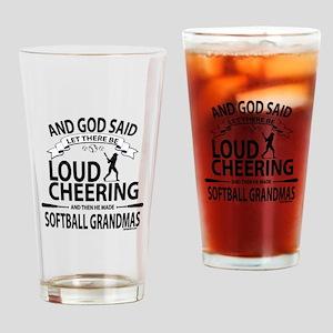 Softball Grandmas Cheering | GetYer Drinking Glass