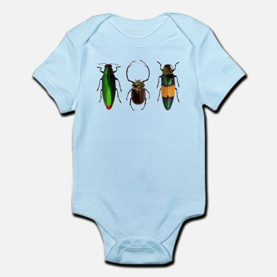 Colorful Insects Body Suit