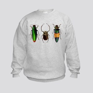 Colorful Insects Kids Sweatshirt