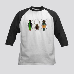 Colorful Insects Baseball Jersey