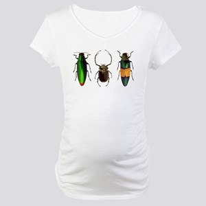Colorful Insects Maternity T-Shirt