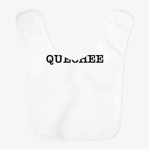 I Love QUECHEE Polyester Baby Bib