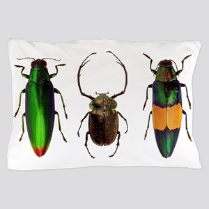 Colorful Insects Pillow Case