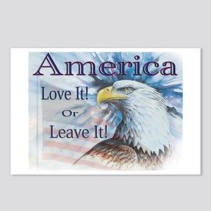 America Love It or Leave It Postcards (Package of